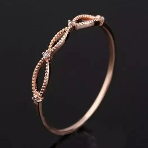 NEW Rose Gold Delicate Geometric Stackable Ring